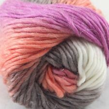 SALE LOT 1ball x 50gr NEW Chunky Colorful Hand Knitting Scores Wool Yarn 807