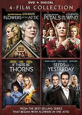 Flowers in the Attic Giftset 4 Film DVD Collection (FLOWERS/PETAL/THORN/SEEDS)