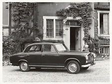 PEUGEOT BERLINE LUXE 403 CONFORT, PERIOD PHOTOGRAPH.