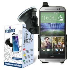 Celicious Dedicated Fit-In Car Suction Mount Holder for HTC One (M8)