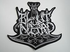 BLUT AUS NORD EMBROIDERED LOGO BLACK METAL BACK PATCH