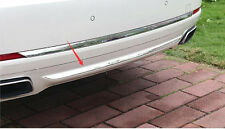 Stainless Rear bumper bottom cover trim 1pcs for BMW 7 Series F01 F02 2010-2015