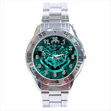NEW* HOT HARRY POTTER HOGWARTS SCHOOL Stainless Steel Analogue Watch Gift D03