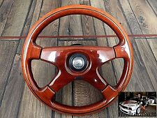 Mercedes Benz  Vintage OBA Wood Steering Wheel 360MM W123 W124  W126 W201