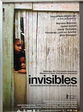 Cinema Poster: INVISIBLES 2007 (One Sheet) Lia Chapman Isabelle Stoffel Mariano
