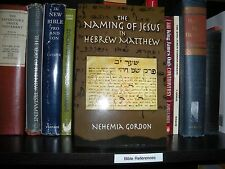 """Naming of Jesus HEBREW Matthew"" Tetragrammaton  JEHOVAH Watchtower Research"