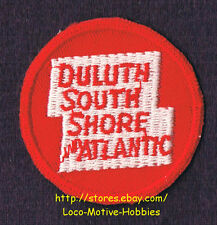 LMH PATCH Badge  DULUTH SOUTH SHORE ATLANTIC Railroad  DSS&A Railway  pre SOO 2""