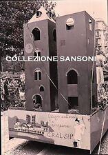 FOTO ANNI '70 - ALASSIO - CARNEVALE LUNGO LA VIA DANTE -  C7-345