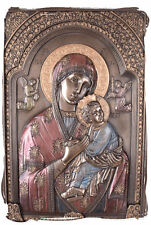 Cuadro santos Icono Maria con Niño original de Veronese Pintura de maría