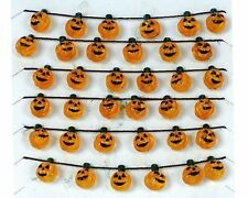 Miniature Dollhouse Fairy Garden Halloween Pumpkin Garland - Buy 3 Save $5
