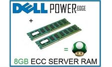 8GB (2x4GB) Memory Ram Upgrade for Dell Poweredge R520, R810 & DX6000 Servers