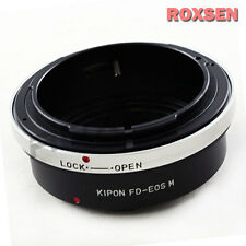 Kipon Canon FD Mount lens to Canon EOS M M2 EF-M Mount Mirrorless Camera Adapter