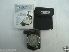 DRAPER LIQUID FILLED COMPASS & POUCH 89461