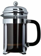 Grunwerg Cafe Ole Classic Coffee Cafetiere 12 Cup/1.5L Chrome TM-015C