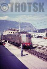 35mm Slide FS Italian Railways Electric Loco 636 044 1964 Original Italy Italia