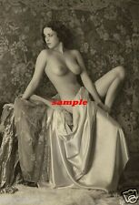 "*** vintage érotique real photo nude années 1900 naked lady photo erotica 7"" x 5"""