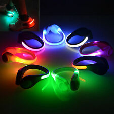 Night Safety Outdoor Sport LED Shoe Clip Bright Light For Running Cycling New