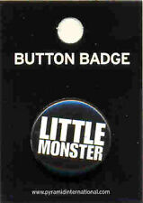 Lady Gaga Little Monster 25mm Button Badge Pin Official Carded