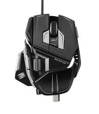 Mad Catz Cyborg MMO M.M.O. 7 Laser Gaming Mouse 6400 dpi for PC Mac GLOSS BLACK