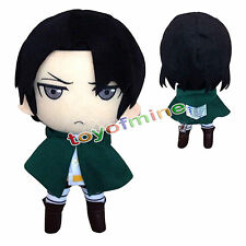 "New Attack On Titan Rivaille/Levi Plush Doll Toy Soft 12""/30cm Xmas Gift"