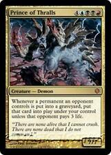 PRINCE OF THRALLS Shards of Alara MTG Gold Creature — Demon MYTHIC RARE