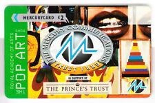 EUROPE  TELECARTE / PHONECARD .. U.K 2£ GPT 29MERA N/G+B MERCURY POP ART