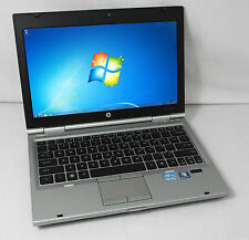 "HP EliteBook 2560p 12.5"" (Intel i5 2.6 GHz, 4 GB, 250 GB HDD) Win 7 Pro, Webcam"