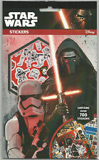 New Star Wars 7 Movie The Force Awakens 700 Stickers Great Boys Party Bag Filler