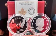 Scotty Star Trek $10 2016 Pure Silver Proof Colour Coin. No Tax for Buyer.