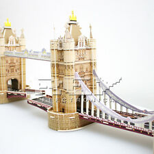 Puzzle 3D Torre Bridge Torre de Londres Rio Támesis Rompezacebezas j74