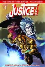 JUSTICE INC #1  (2014) COVER D SEGOVIA VARIANT COVER DYNAMITE