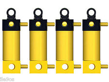 4 Lego Pneumatic CYLINDERS Kit   (technic,valve,air,tank,hose,tubing,piston,big)