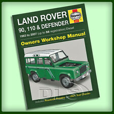 LAND ROVER DEFENDER Diesel - Haynes Workshop Manual 1983 to 2007 (DA3035)