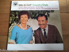 "MIKI & GRIFF - COUNTRY STYLE 12"" LP / RECORD - MARBLE ARCH RECORDS - MAL 699"