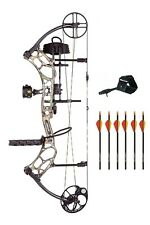 New 2016 Bear Archery Marshal RTH 70# RH Bow Package Xtra Camo w/ Arrows Release