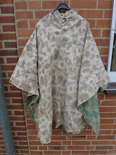 Ww2 usmc marines pacific poncho Camouflage Duck Hunter jungle shelter sheet #