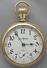 A GREAT & VERY ACCURATE 18s, 23J, Illinois, Bunn Special Railroad Pocket Watch!!