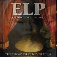 Emerson Lake & Palmer The Show That Never Ends 2-CD NEW Prog