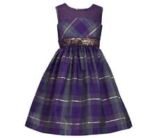 Bonnie Jean Purple Sequin Girls Dress xmas  UK 13 yrs (US16)NWT LAST ONE