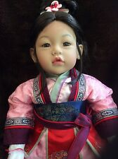 Rare extremely rare 18/50 Retired Disney Mulan Adora Limited Edition Doll