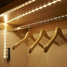Auraglow Wireless PIR Motion Sensor 30 LED Wardrobe Under Bed 1M Strip Light