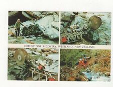 Greenstone Recovery Westland Postcard New Zealand 556a