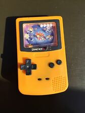 ORIGINAL POKEMON c2000 Burger King Gameboy Color Kids Meal Toys Orange