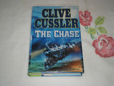 THE CHASE by CLIVE CUSSLER **SIGNED**