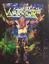 Ultimate Warrior Large T Shirt short sleeve black wwf wwe wcw pro wrestling