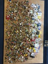 Massive job lot of Clubs &Society pins & badges-charity/vintage/90s/collectable