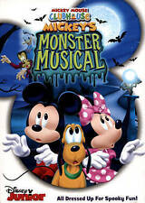 Mickey Mouse Clubhouse: Mickey's Monster Musical,Very Good DVD, Rob Paulsen, Bil
