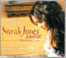 ☆ MAXI CD Norah JONES  Sunrise PROMO 1-TRACK JAPAN Jewel case ☆ RARE ☆