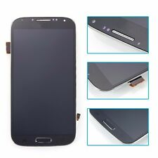 Blue Full LCD Touch Screen Glass Digitizer & Frame for Samsung Galaxy S4 i337