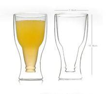 Invertito Parete Doppia Bicchiere Di Birra 354,9 Ml Bottiglia Di Birra Magico